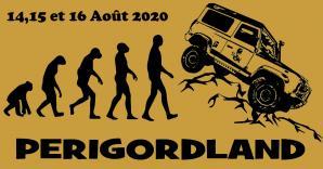Logo perigordland 14 15 et 16 aout 2020