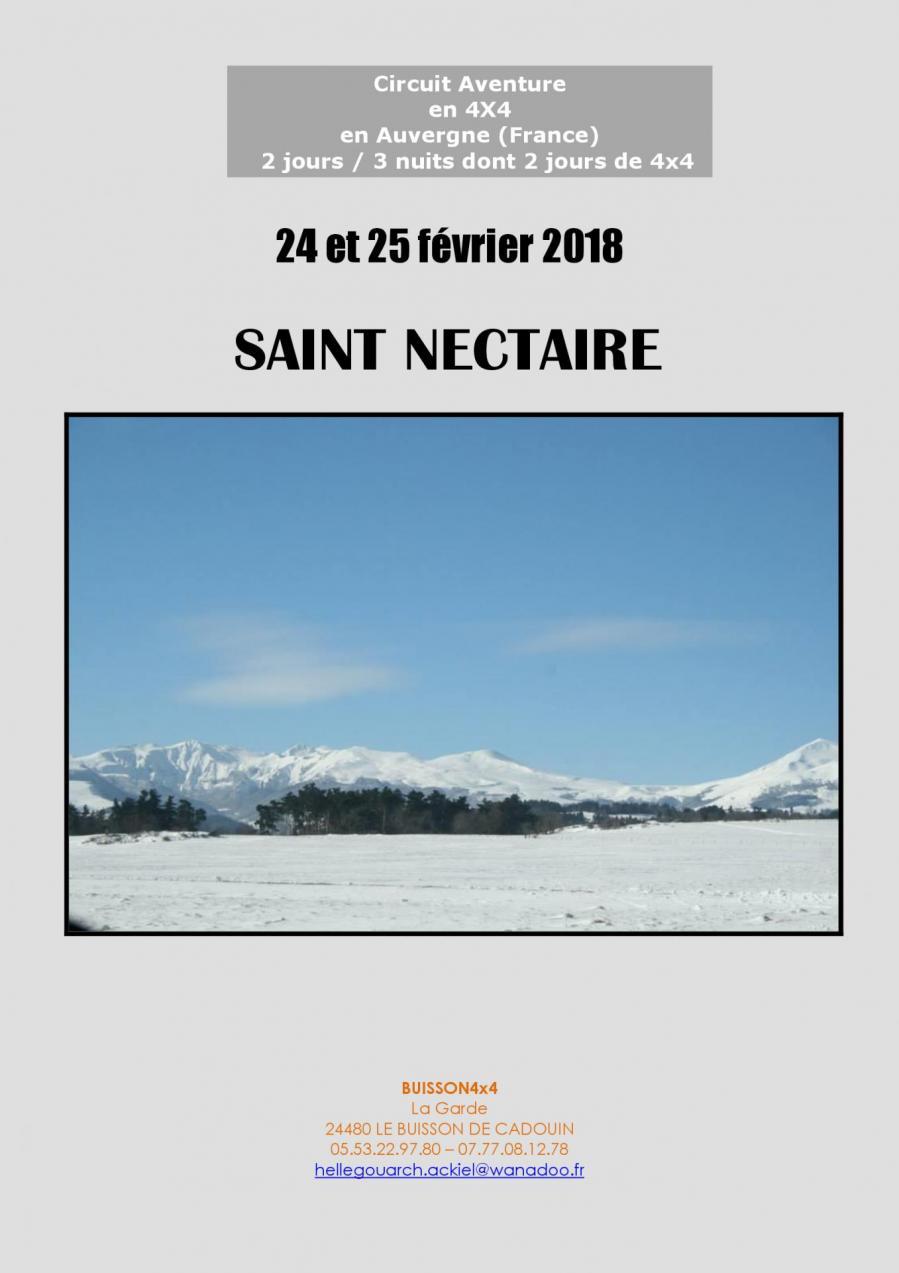 Programme saint nectaire 1